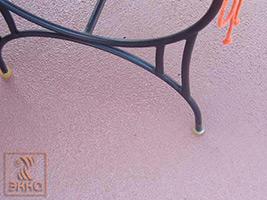 Гидроизоляция пола открытой террасы летнего кафе