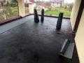 Открытая терраса. Применение рулонных материалов для гидроизоляции